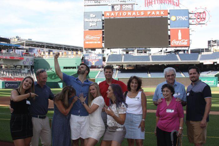 Where to Propose in Nationals Park, Washington Nationals baseball stadium