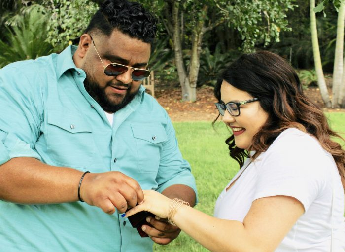 Samuel's Proposal in The Huntington Library, Art Collections, and Botanical Gardens