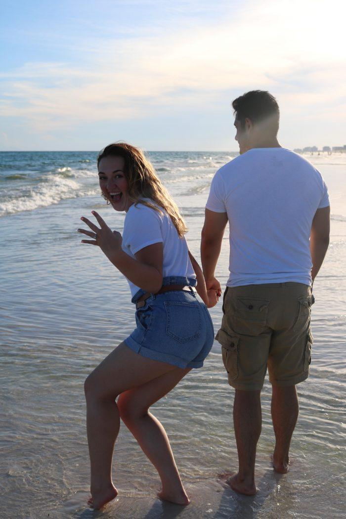 Baleigh's Proposal in Destin, Florida