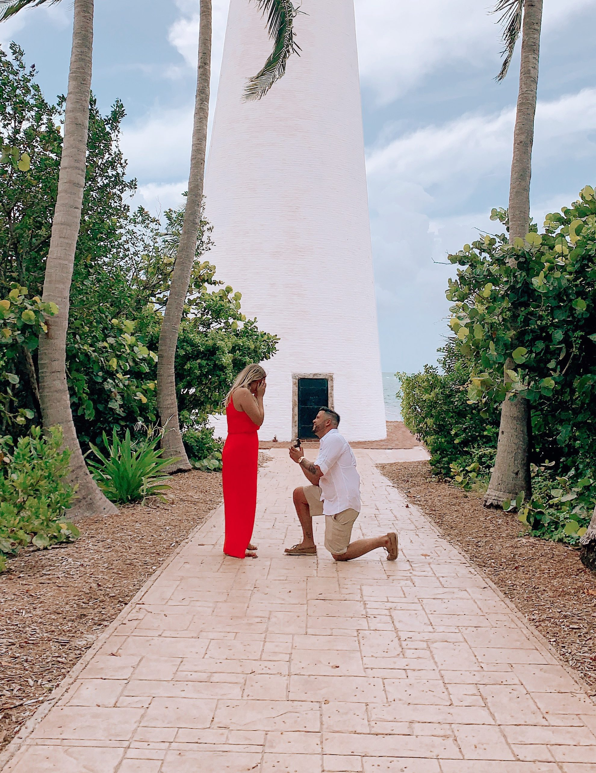 Stephen and Katrina's Engagement in El Farito Beach