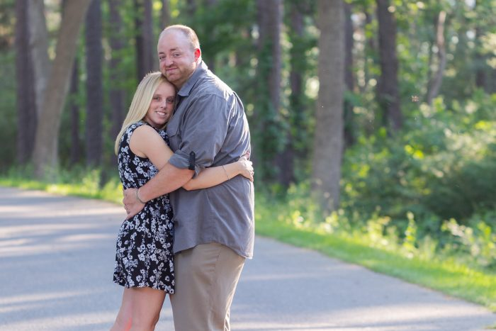 Paige and Matt's Engagement in Peirce Farm