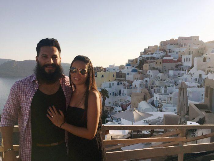 Julian Gutierrez's Proposal in Santorini, Greece