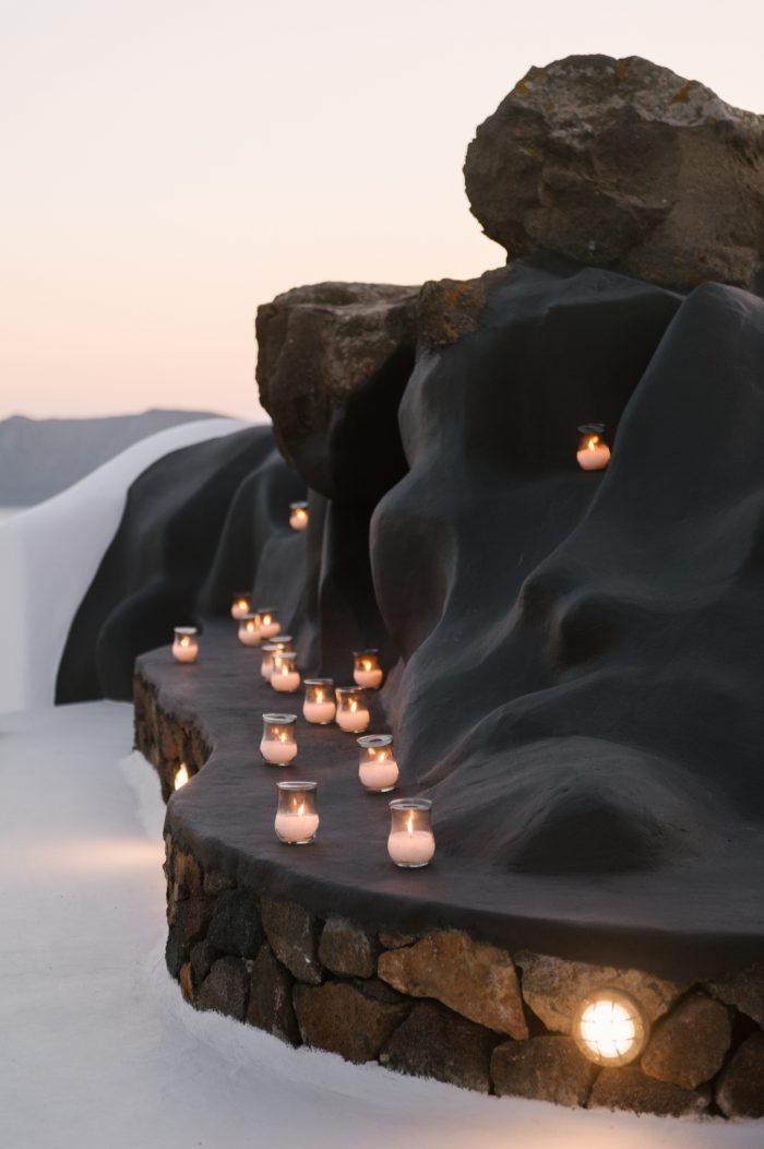 Marriage Proposal Ideas in Aenaon Villas, Santorini, Greece