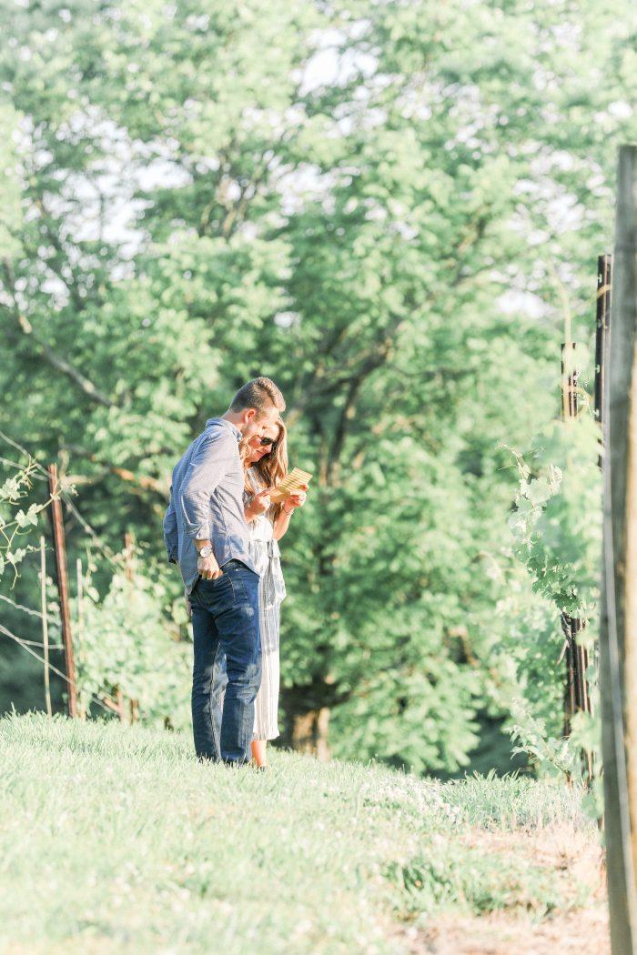 Marriage Proposal Ideas in Arrington Vineyards- Nashville, TN