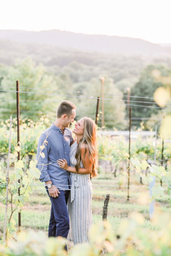 Wedding Proposal Ideas in Arrington Vineyards- Nashville, TN
