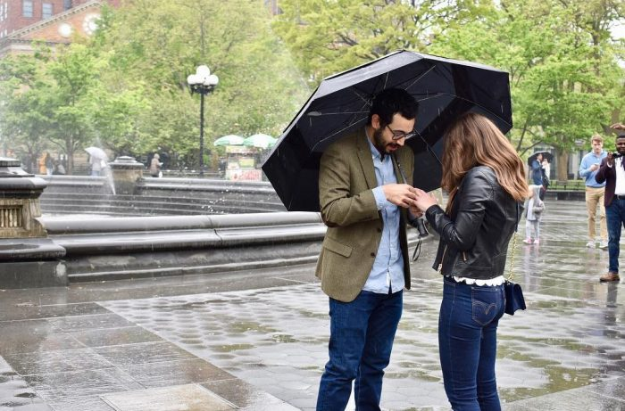 Where to Propose in Washington Square Park