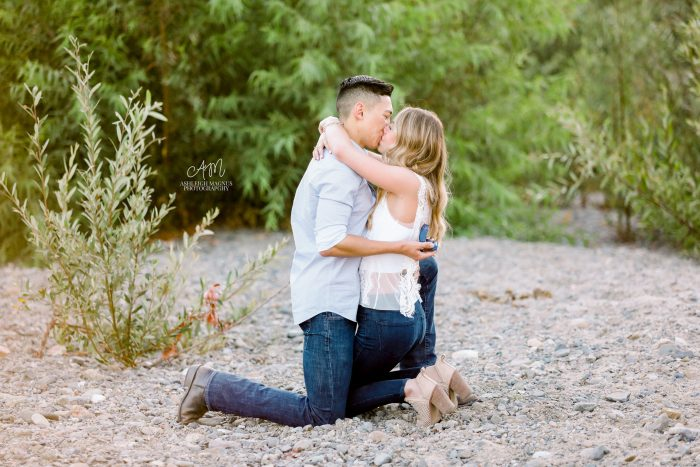 Shannon and Colby's Engagement in San Juan Capistrano, CA