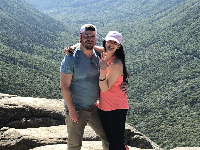 Wedding Proposal Ideas in Mount Willard Peak New Hampshire