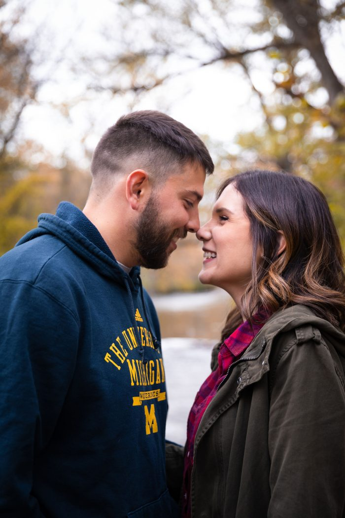 Kaila's Proposal in Matthaei Botanical Gardens in Ann Arbor, Michigan