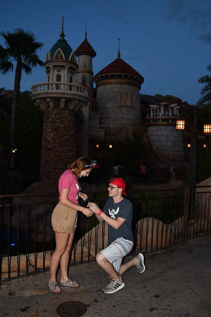 Wedding Proposal Ideas in Magic Kingdom