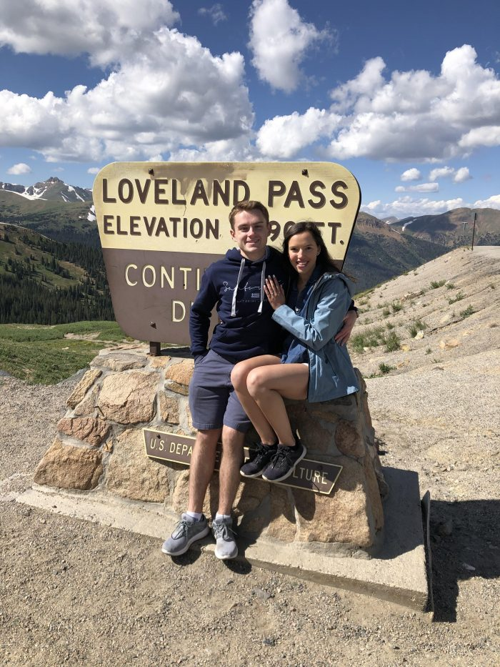 Proposal Ideas Loveland Pass Colorado