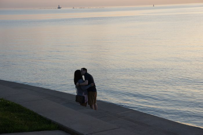 Marriage Proposal Ideas in Chicago - Lake Michigan Lakefront
