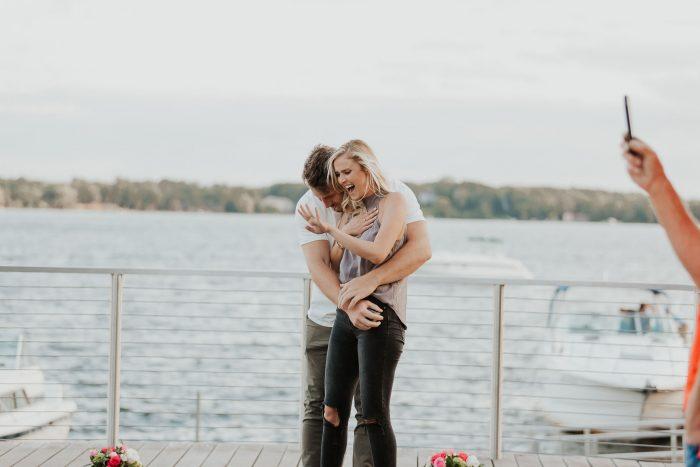Langlie's Proposal in Wayzata Minnesota