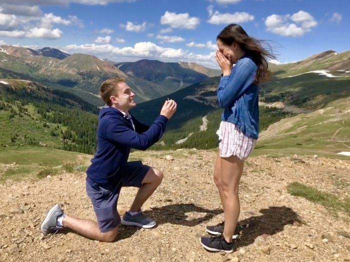 Engagement Proposal Ideas in Loveland Pass Colorado