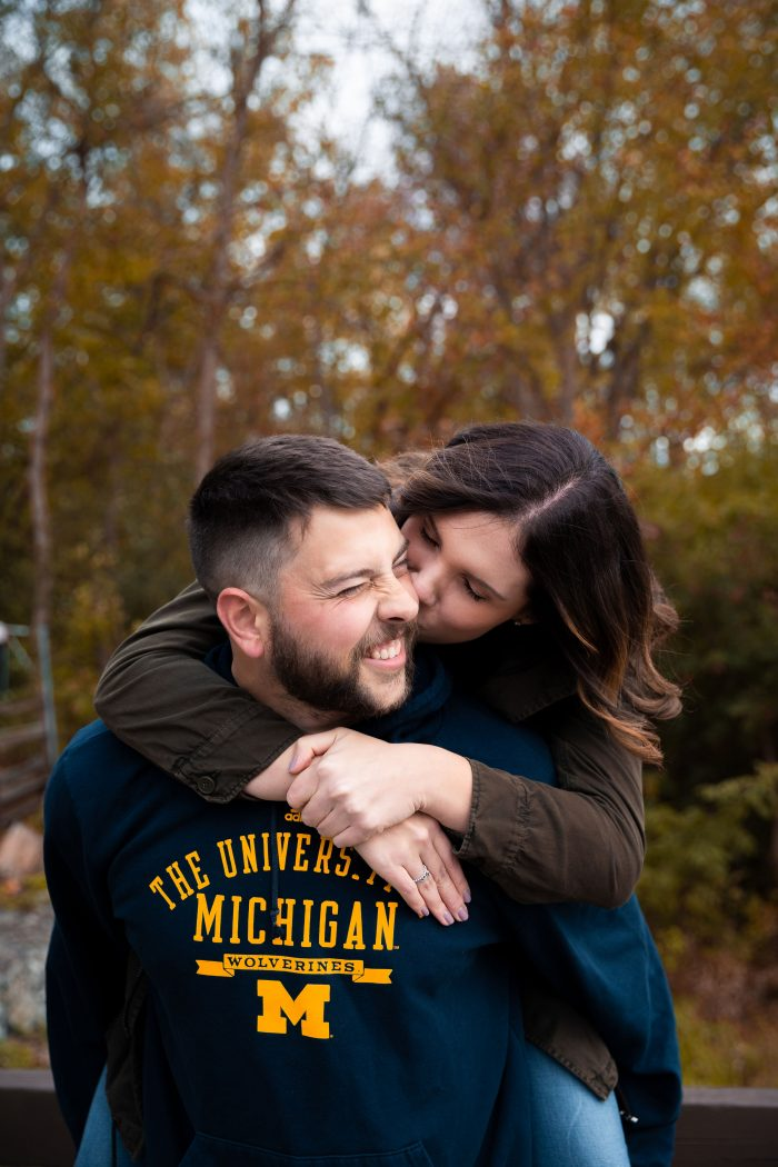 Wedding Proposal Ideas in Matthaei Botanical Gardens in Ann Arbor, Michigan