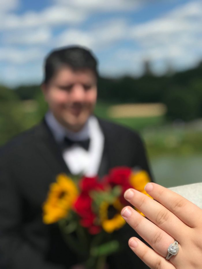 Where to Propose in Belvedere Castle in Central Park in New York