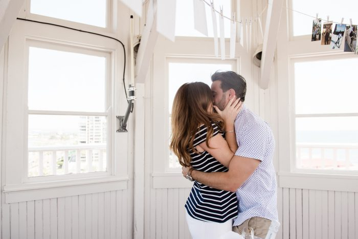 Melanie and Harris's Engagement in Hotel del Coronado