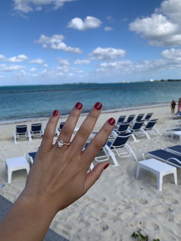 Taylor's Proposal in Baha Mar, Nassau, Bahamas