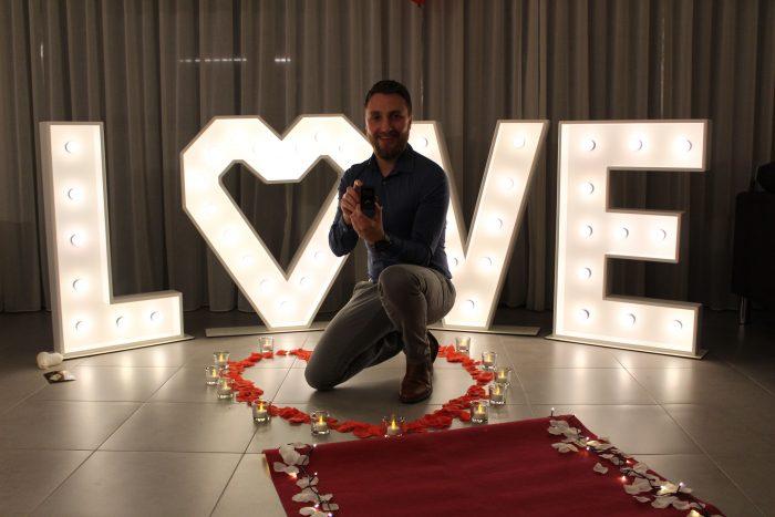 Wedding Proposal Ideas in Home (Belgium)