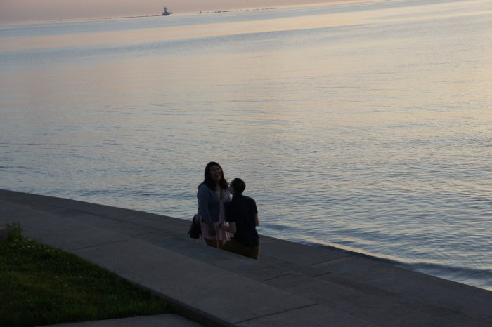 Where to Propose in Chicago - Lake Michigan Lakefront