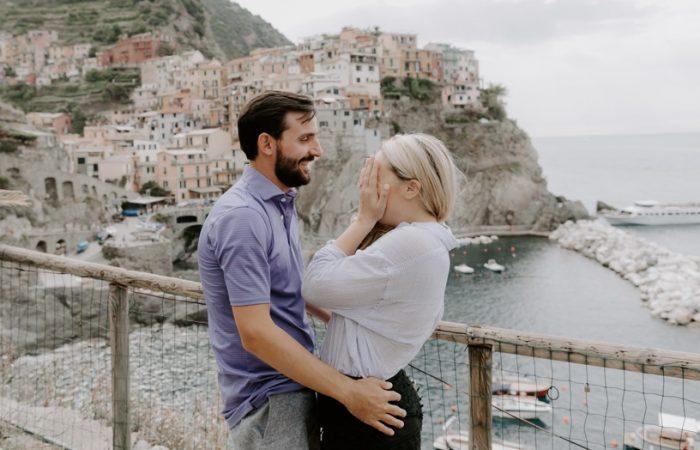 Wedding Proposal Ideas in Manarola Italy