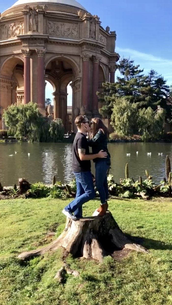 Where to Propose in The Palace or Fine Arts, San Francisco