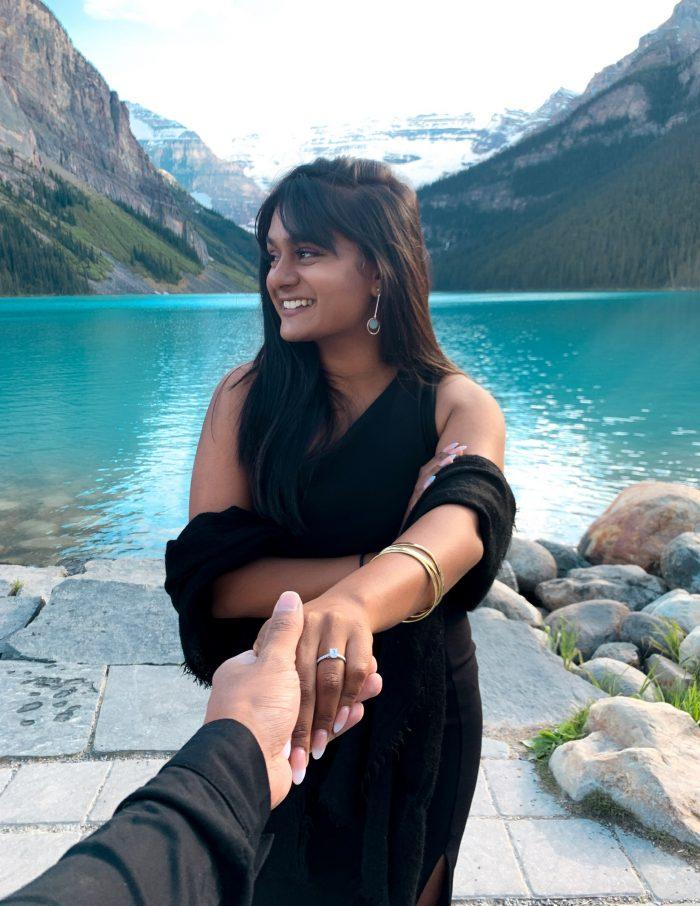 Wedding Proposal Ideas in Lake Louise