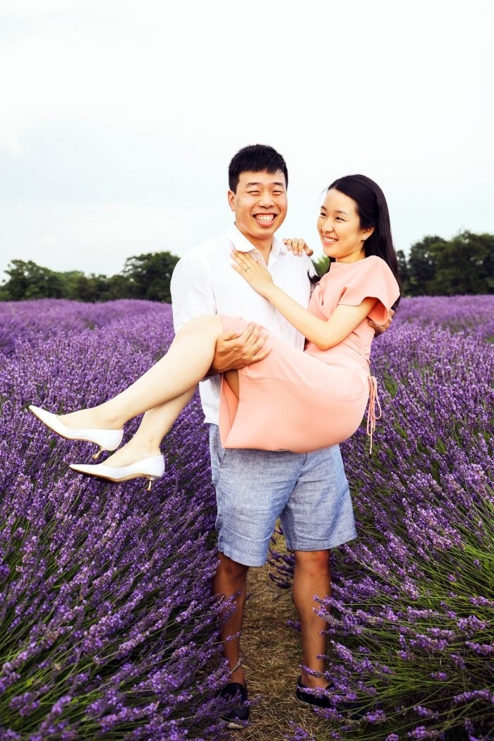 Where to Propose in Mayfield Lavender Farm, London, United Kingdom