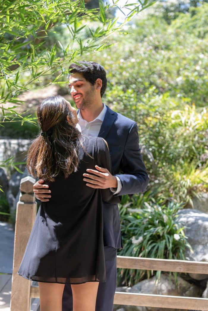 Rebecca and Peter's Engagement in Huntington Gardens