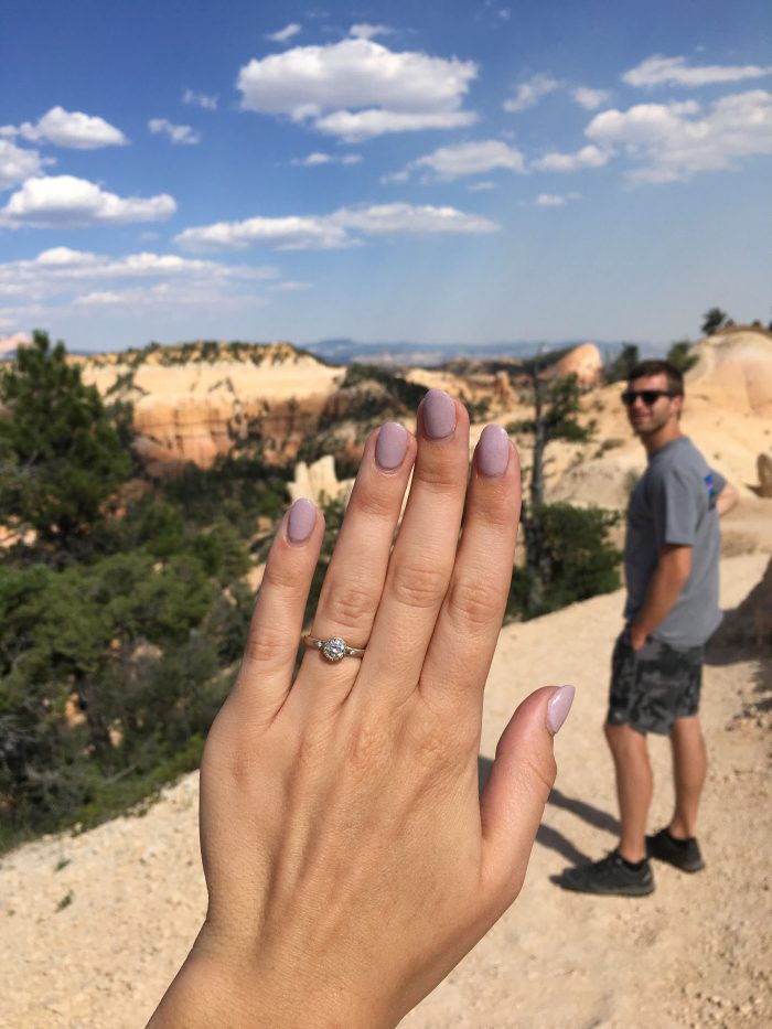 Marriage Proposal Ideas in Red Canyon National Park