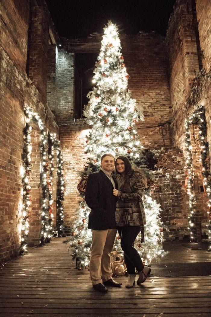 Presley and Devan's Engagement in Barnsley Resort