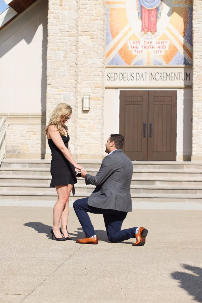 Marriage Proposal Ideas in Walsh University