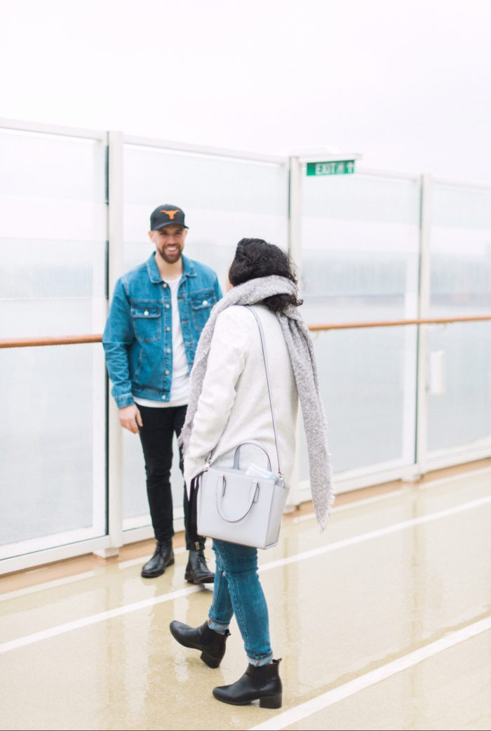 Alexa and Nick's Engagement in On board the Norwegian Escape in NYC