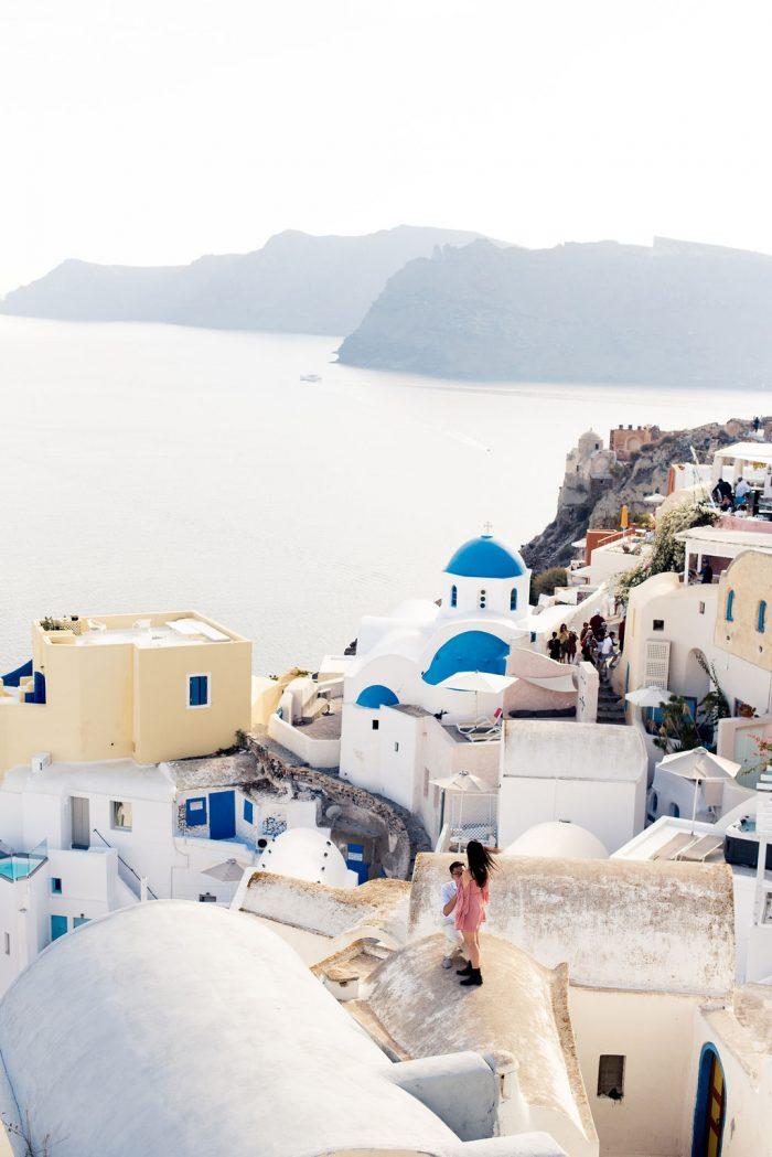 Wedding Proposal Ideas in Oía, Greece