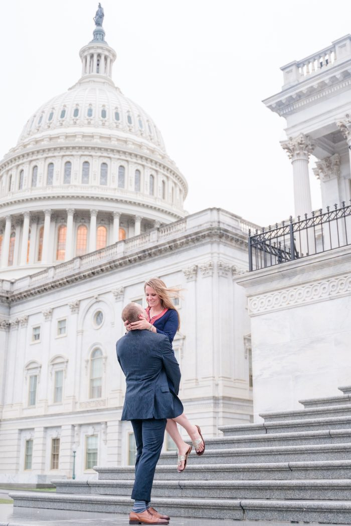 Wedding Proposal Ideas in U.S. Captiol; Washington, DC
