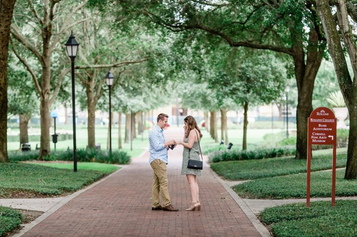 Kyle's Proposal in Rollins College