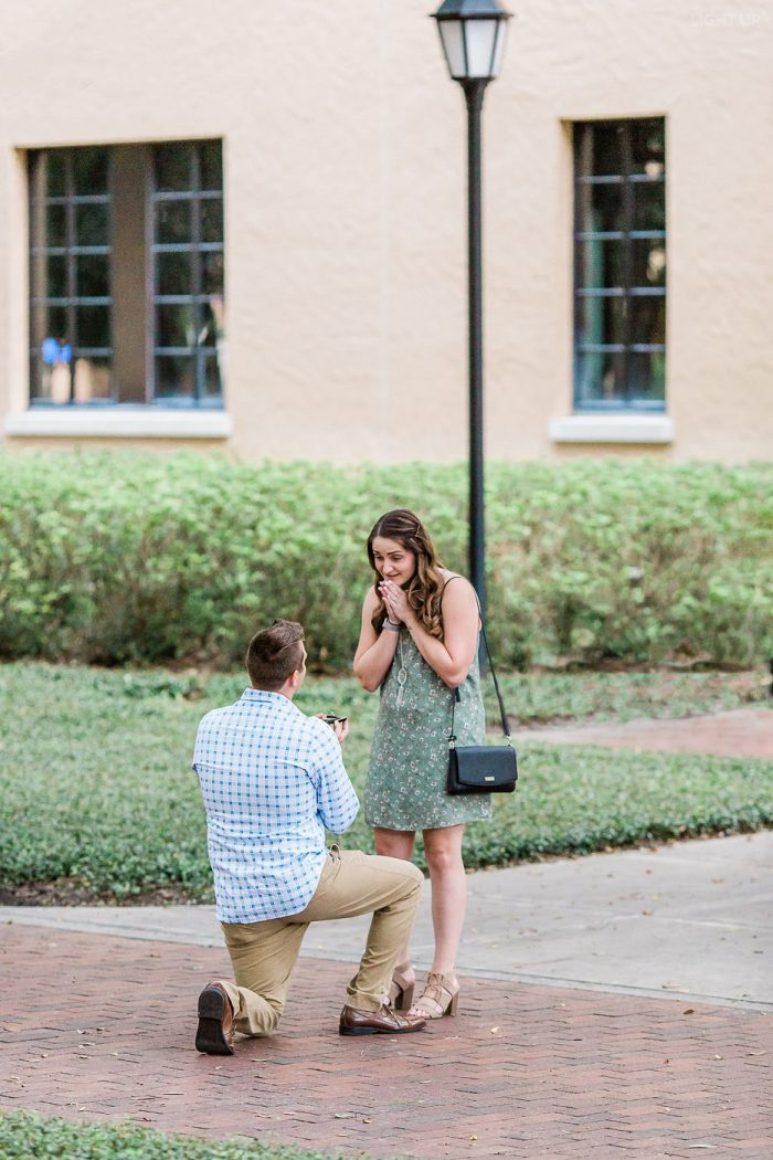 Wedding Proposal Ideas in Rollins College