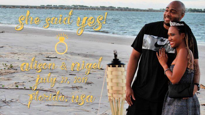 Proposal Ideas Big Talbot Island Boneyard Beach, Florida, USA