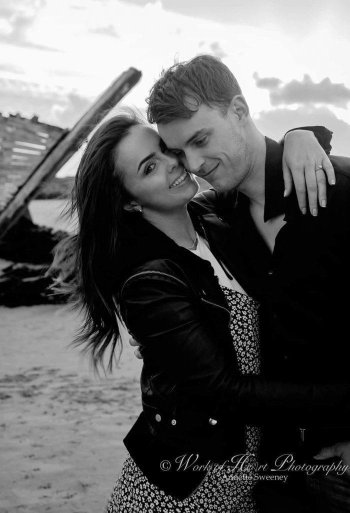 Wedding Proposal Ideas in Bád Eddie, Magheraclogher beach, Gweedore, Donegal, Ireland.