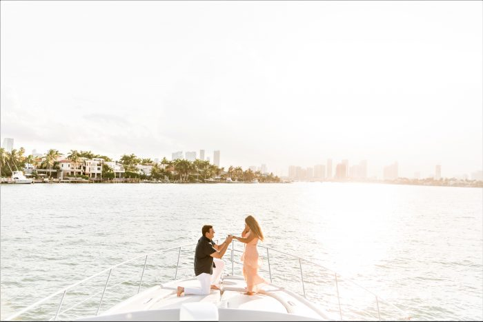Engagement Proposal Ideas in South Beach Miami, FL