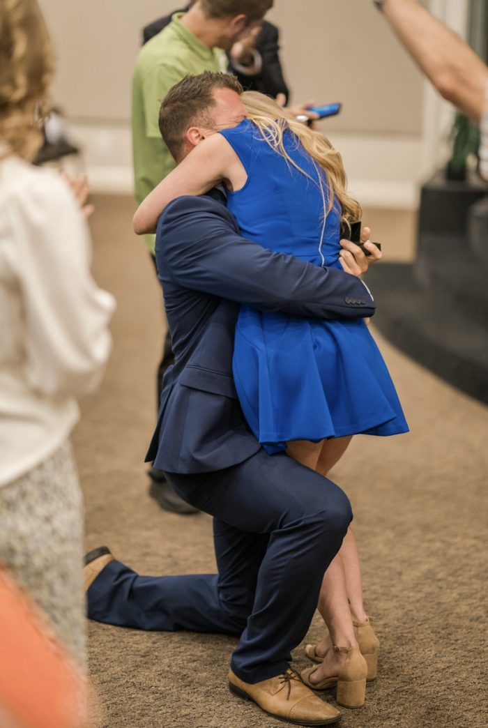 Jenna and Drew's Engagement in New Destiny Worship Center