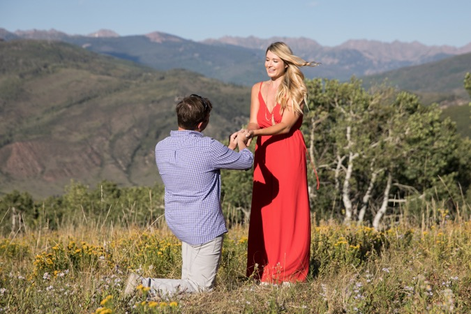 Sam's Proposal in Beaver Creek, CO