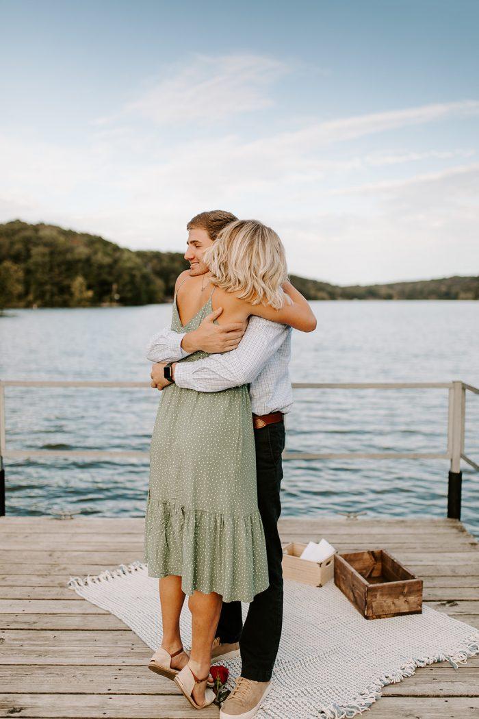 Marriage Proposal Ideas in Lake Ann, Bella Vista, Arkansas