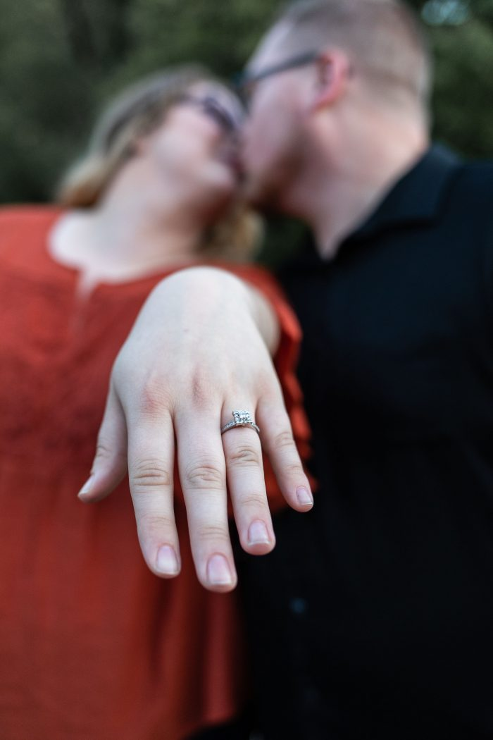 Casey and Carrie's Engagement in Hungry Mother State Park (lake amphitheatre)