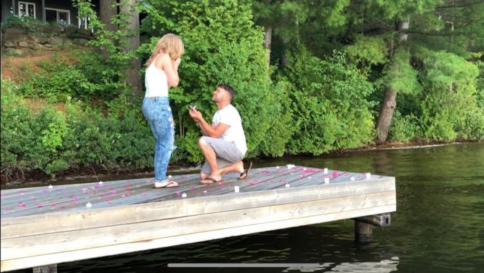 Where to Propose in Parents home - our annual summer getaway