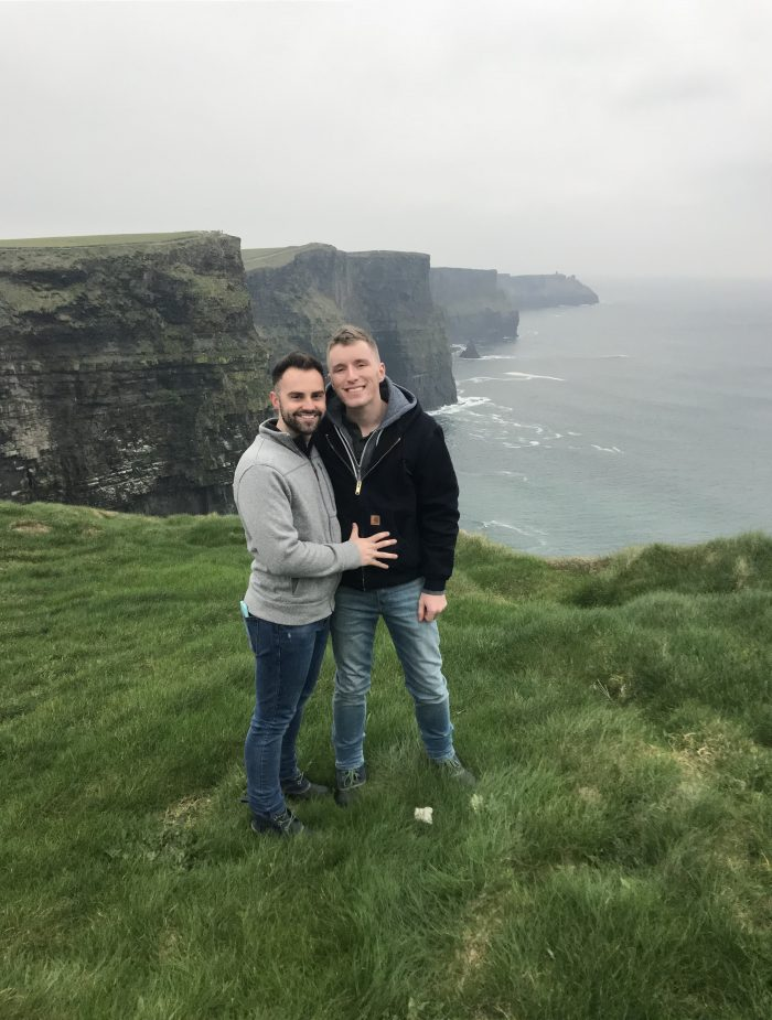 Marriage Proposal Ideas in Cliff of Moher, Galaway, Ireland