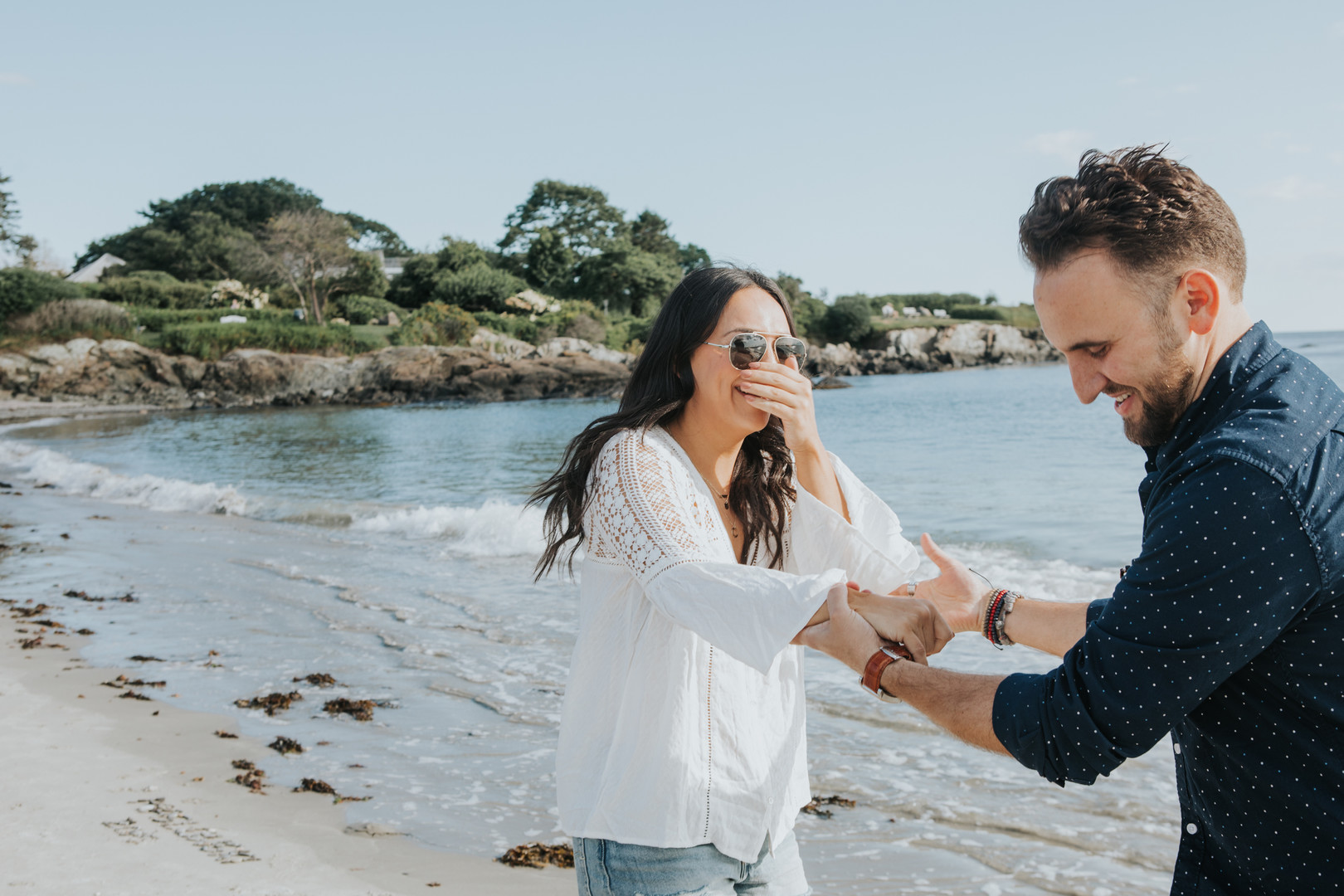 Engagement Proposal Ideas in Kennebunkport, Maine