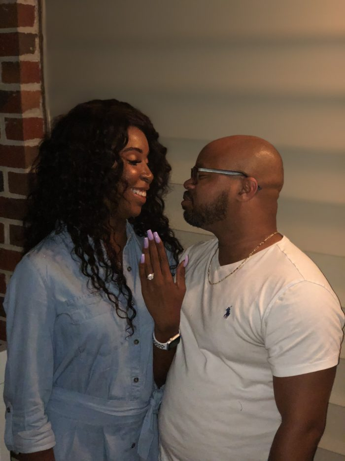 Wedding Proposal Ideas in Our home Greensboro NC