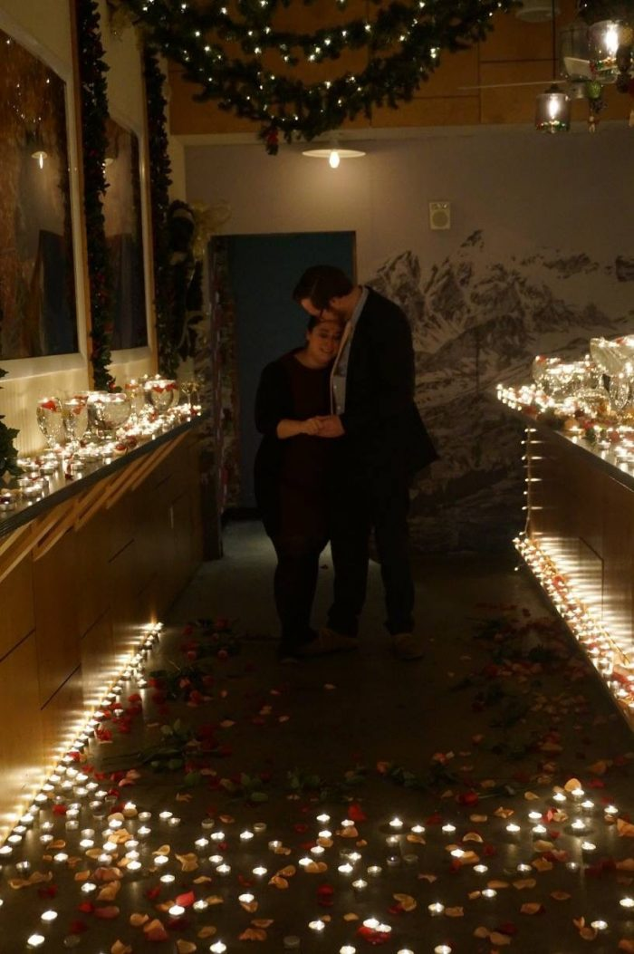Wedding Proposal Ideas in Miracle On 7th St Pop Up Bar, Washington DC