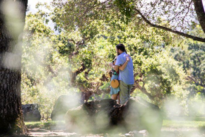Nicole and Robert's Engagement in Napa, California